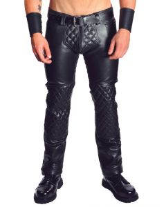 Mister B Leather Jeans Padded - now at misterb.com