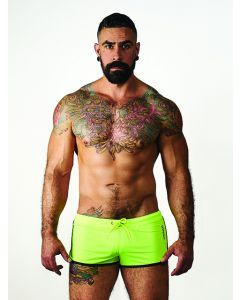 Mister B URBAN Ibiza Shorts Fluo Blue - buy online at www.misterb.com