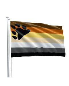 Bear Pride Flag 90 x 150 cm