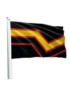 Rubber Pride Fetish Flag 90 x 150 cm