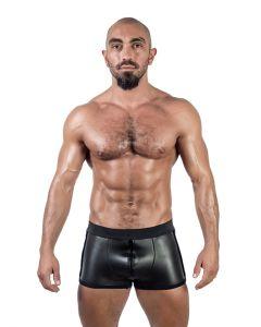 Mister B Neoprene Pouch Shorts Black - buy online at www.misterb.com