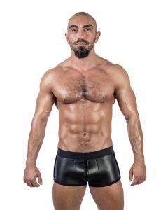 Mister B Neoprene Shorts 3 Way Full Zip Black - buy online at www.misterb.com