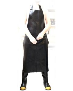 Mister B Rubber Butchers Apron Three Way Zip - buy online at www.misterb.com