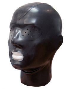 Mister B Rubber Hood Zip Pinhole Eyes - buy online at www.misterb.com