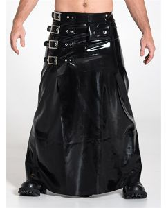 Mister B Rubber Long Buckle Skirt - buy online at www.misterb.com