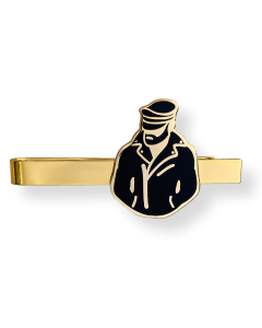 Master of the House Tie Clip Biker