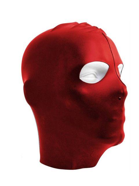 Mister B Datex Masker Open Ogen - Rood