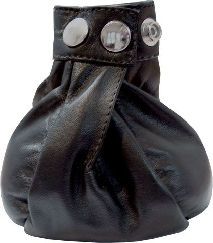 Mister B Leather Lead Weighted Ball Bag 2 kg