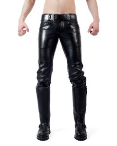 Mister B Leather Ranger Jeans