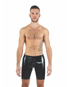 Mister B Rubber Fucker Shorts Black Yellow