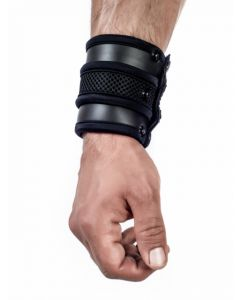 Mister B Neoprene Wrist Wallet Black