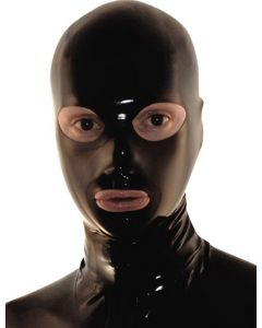 Mister B Rubber Full Face Hood Zip