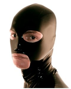 Mister B Rubber Hero Hood