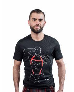 Mister B CIRCUITBOY T-shirt Black