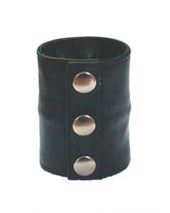 Mister B Leather Wrist Wallet Zip