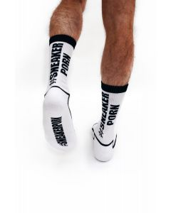 #Sneakerporn Socks White-Black