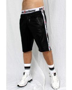 Sk8erboy Shiny Shorts - Black