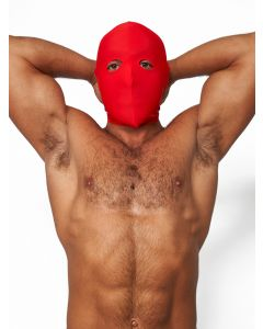 Mister B Lycra Hood Eyes Open Only Red