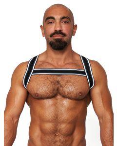 Mister B Urban Club Harness X-back Striped