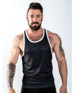 Mister B URBAN Leeds Muscle Shirt Logo