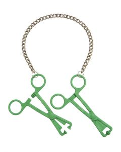 Green-Tube-Clamps-on-Chain