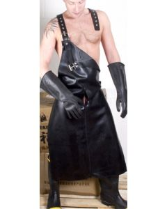 Mister-B-Apron-With-Harness-Three-Way-Zip-Black
