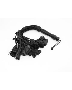 Mister-B-Leather-Flogger-18-Tails-Wooden-Handle