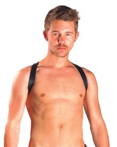 Mister B Leather Sling Harness Premium Black