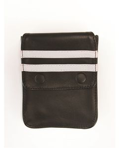 Mister-B-Leather-Wallet-for-Harness-Black-White