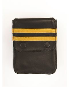 Mister-B-Leather-Wallet-for-Harness-Black-Yellow