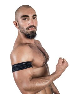 Mister B Neoprene Biceps Band Black