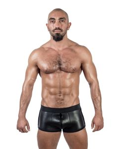 Mister B Neoprene Shorts 3 Way Full Zip Black