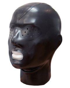 Mister B Rubber Hood Zip Pinhole Eyes