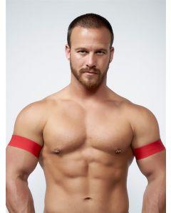 Mister-B-URBAN-Club-Biceps-Bands-Red