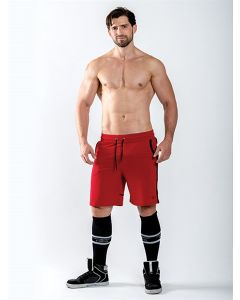 Mister-B-URBAN-Sheffield-Shorts-Red-L