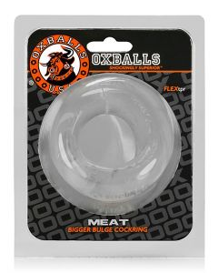 Oxballs-MEAT-Cockring-Clear