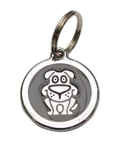 Puppy-Dog-Tag-Black-Silver